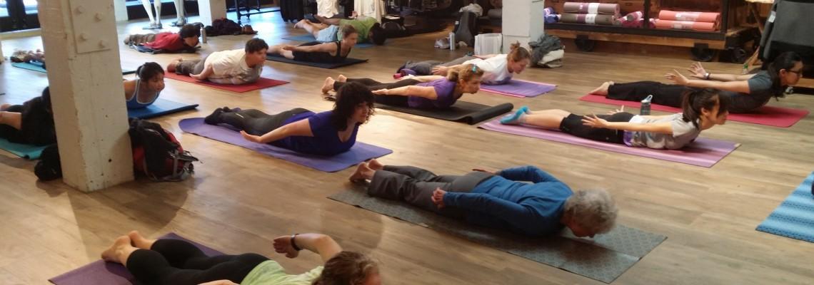 Yoga Sunday Mornings at Athleta Palo Alto