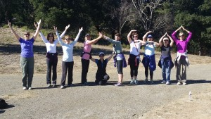 Yoga Hike Wunderlich Nov 2015