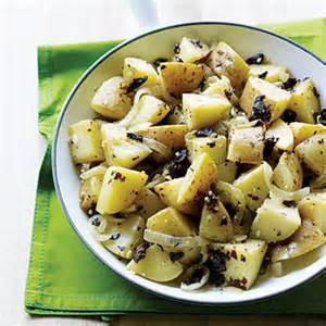 potatoes and sea vegetables