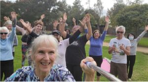 Yoga in Robles Park Palo Alto CA